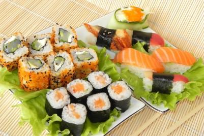 Gerichte der japanischen Küche rocken jedes Fest