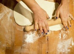 Die Herstellung eines klassischen der italienischen Pizza Teig #Pizza Rezept