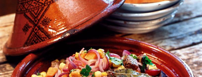 Was koch ich heute: Marokkanische Tajine mit Lamm
